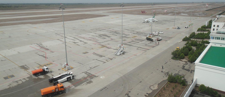 Reconstruction of the Dashoguz airport